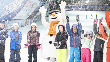 Snowworld header schoolklas